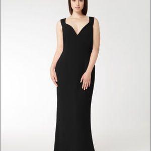 Marina Rinaldi's Dorothy long black gown